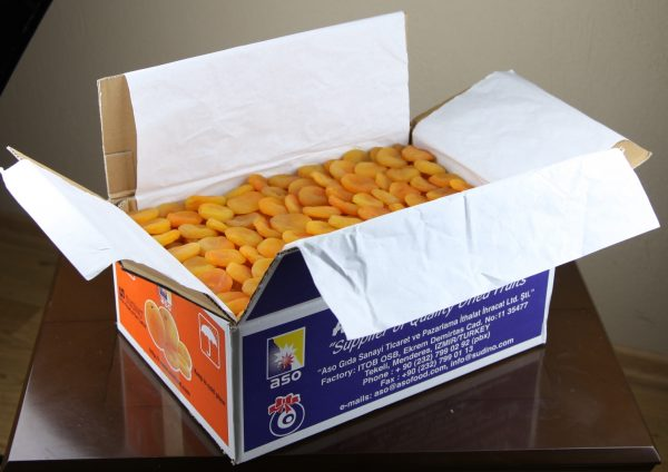 Dried Apricots 12.5kg